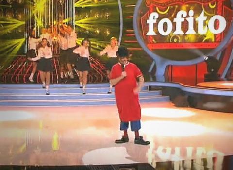 Santiago Segura imita a Fofito