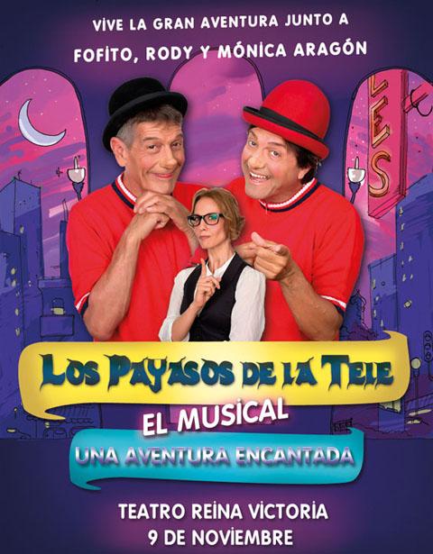LosPayasosDeLaTele_UnaAventuraEncantada_cartel